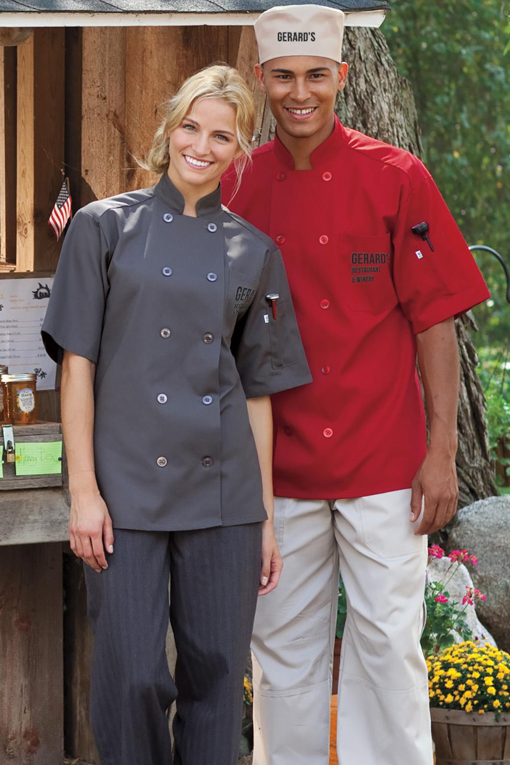 custom embroidered chef apparel