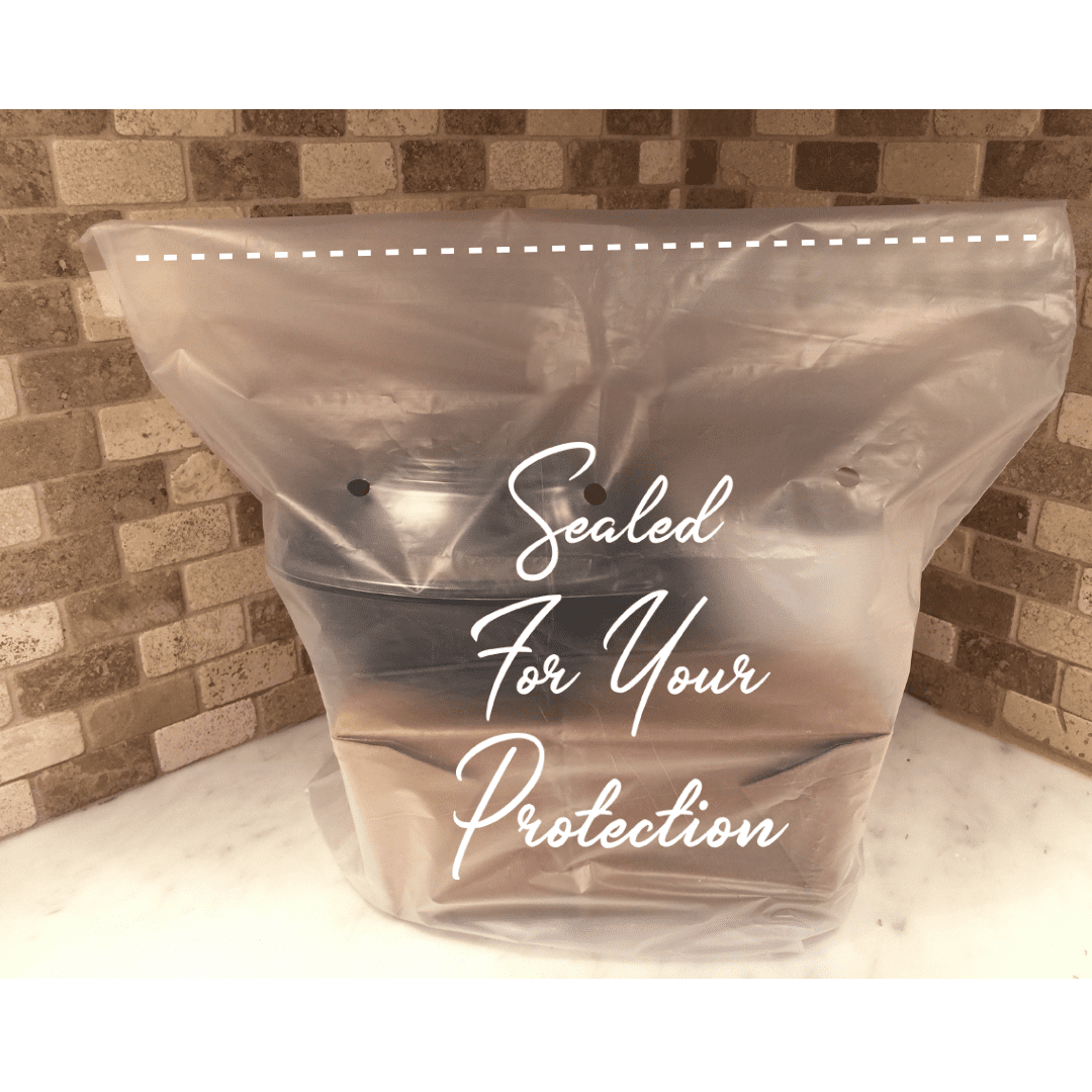 tamper evident sealed bag for restaurant deliveries